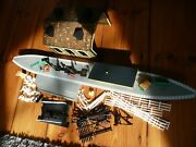 Hornby Platform R460 R464 + Engine Shed Poles Water Crossing Job Lot Parts Spare