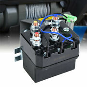 For 1500-5000lb Winches Atv Utv Electrical Winch Contactor Solenoid Relay Black