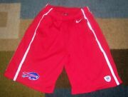 Authentic Rare Nike Nfl Equipment Buffalo Bills Red Training/workout Shorts S L