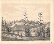 View Of Central Park New York City Antique Graphic Engraving Print By G. Hayward