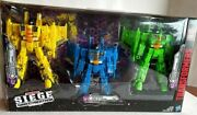 Transformers War For Cybertron Siege Rainmakers Seekers 3-pack -brand New In Box