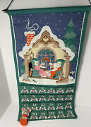 Vintage 1987 Avon Christmas Countdown Advent Calendar With Mouse