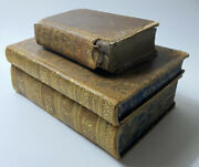 Antique Rare 1700s And 1828 French Bibles And Religeous Book