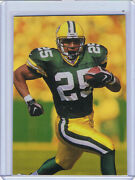 1998 Collectors Edge Odyssey Q2 Hologold /50 No Name Error Dorsey Levens Packers