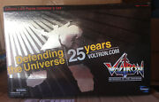 2010 Voltron Lion Force Collector's Set - Toynami 25th Anniversary -