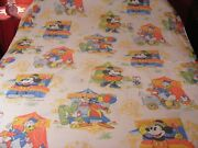 Disney Mickey Mouse Set Of Twin Bed Linens
