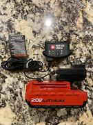 Porter Cable Pcc680l 20 Volt Max Lithium-ion 20v 1.5 Amp Battery And Charger