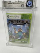 Minecraft Xbox 360 First Edition 2 Day Gold Trial Graded Wata 9.4 A+