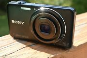 Sony Cybershot Exmor R Dsc-wx9 16.2mp Digital Camera For Parts Ad
