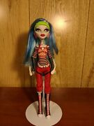 Monster High Doll Ghoulia Yelps Excellent Condition Htf First Wave Signature