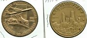 Two Excellent Silver Dollar Sized Illinois Medals
