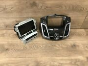 12_2014 Ford Focus Face Control Sony Navigation Stereo Mp3 Display Screen Oem