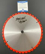 Tobin Bell Autographed 10 Saw Blade Signed Jigsaw Inscribed Bas Coa