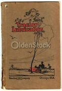 Standard Oil Company Tractor Lubrication Indiana Antique Advertising Manual 1924