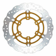 Ebc Md3100xc Motorbike Motorcycle Front Left Brake Disc Gold / Silver - 310mm