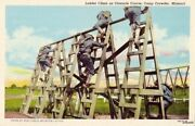 Obstacle Course Ladder Climb Infantry Camp Crowder, Mo