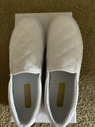 Nine West Lacie Quilted Slip On Sneaker Size 9