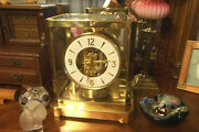 Awesome 1960s Jaeger Lecoultre 528-6 Atmos Clock 202229 Swiss Excellent See Pic
