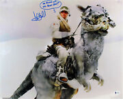 Mark Hamill Star Wars We Missed Our Off Ramp Grr Signed 16x20 Photo Bas