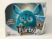 Furby Connect Exclusive Launch Hasbro Bluetooth Teal Blue Damaged Box