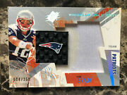 Tom Brady 2003 Spx Game Used Winning Material Jersey Relic ./250 Some Wear