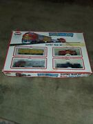Model Power Pride Of The Line Electric Train Set Ho Scale