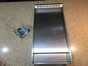 Griddle Stainless Steel And Control For Thor Hrd4803u Oven Range Replacement Part