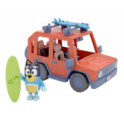 Bluey - Heeler 4wd Family Vehicle - Four 2.5-3 Figures And 1 Car Play Vehicle