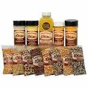 Amish Country Popcorn   8 4 Ounce Variety Gift Sets   Old Fashioned With Reci...