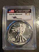 2013-w Enhanced Silver Eagle From The West Point Mint Set Pcgs Sp70