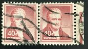 Us Scott1050p1a 40c Stamp John Marshall Pair Collectible Stamp Wove Paper