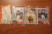 1981 Christmas Rack Pack W/smith Fingers Evans All Padres On Front