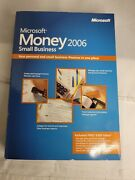 Microsoft Money 2006 Small Business Sealed Brand New Compatible Up To Windows Xp