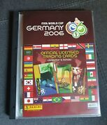 Panini World Cup 2006 Trading Cards Complete Set Ronaldo Messi Rookie