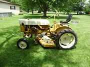 International Cub Tractor With A 61 Inch Cut Woods Finish Mower
