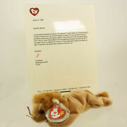 Ty Beanie Baby - Roary Lion Ty Signed Special Tag - Mcdonalds Convention Excl