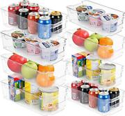 Utopia Home 8 Set Of Pantry Organizers For Freezers Kitchen Storage Cabinet Rack