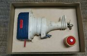 Vintage Swank Outboard Motor Boat Bar Drink Mixer W/box And Instructions Working