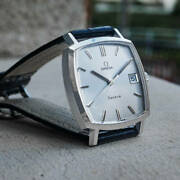 Omega Geneve Automatic 135.0052 Date Vintage Menand039s Watch 1972 Wl37789