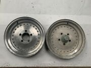Centerline Auto Drag Wheels Rims 15x3.5 Chevy Gm Skinny Front Runners J17187