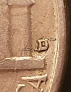 1955 D/s Jefferson Nickel Rare And039dand039 Over And039sand039 Mintmark Error Omm