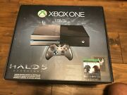 Xbox One Halo 5 Edition Console Brand New Factory Sealed Grail + Halo Mcc