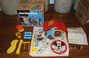 Weebles Mickey Mouse Clubhouse Box, Weebles, Instructions + 1976 Hasbro 582