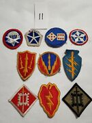 120+ Military Type Patches Lot Ww Ii / U.s. Group / Collection