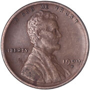1909 S Lincoln Wheat Cent Very Fine Penny Vf+ See Pics L148