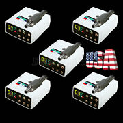 1-5set Usps Dental Led Brushless Electric Micro Motor Fit 11/15 Contra Angle