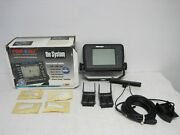 Pinpoint 7520 Network Fishing Systems Sonar Imaging Display W/box And Transducer