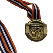 2007 New York City Nyc Marathon Official Finisher Medal With Ribbon Salazar