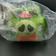 Angry Birds Green Mustache Grandpa Pig 5 Plush Toy With Sound Commonwealth