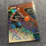 Prizm Kevin Garnett Auto Ssp Autograph Card Original Collectible F/s From Japan